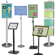 Floor sign stands